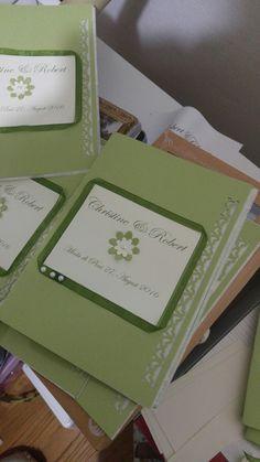 Wedding mass booklet, libretto matrimonio