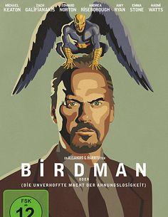 """Ein """"""""fieberhaft witziger Film"""" (New York Times)! Birdman bei weltbild.de #dvd #komödie #film #weltbild"""