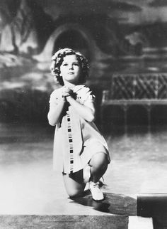 Shirley Temple in Stowaway, 1936