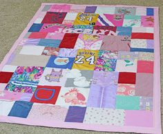 """A customer said """"Was so excited to see your mail this morning, can't wait to get my hands on them. I am trying so hard to not spoil the surprise hence the kids haven't seen their quilt yet. But I am sure they will be jumping for JOY when they see their very own quilt."""""""