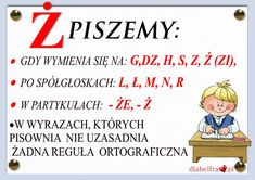 Aa School, Back To School, Learn Polish, Poland History, Polish Language, Girls World, Our Kids, Teaching English, My Passion
