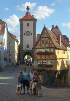 The medieval town of Rothenburg