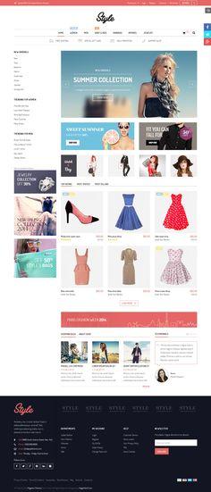 Style - Responsive Multipurpose Magento Theme #website #webshop #ecommerce Download: http://themeforest.net/item/style-responsive-multipurpose-magento-theme/9010581?ref=ksioks