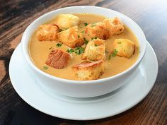 Beer-cheese soup for a crowd! We're making this for our next football watch party.