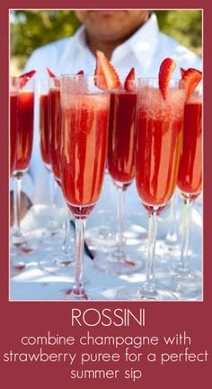 Rossini Drink Recipe - XOimagine
