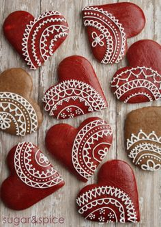 valentines gingerbread  by Michaela Canady