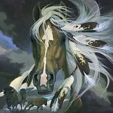 Indian horse image by Joanne1967_photo