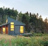 off the grid cabin ~ love