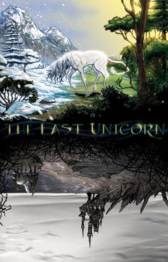 (breathtaking) The Last Unicorn GN cover 1 by RayDillon.deviantart.com on @deviantART