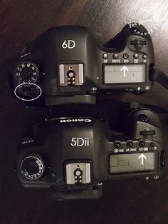 6D vs 5D Mark II