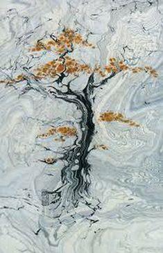 Техника эбру и суминагаши - рисование на воде. Рисование и живопись./4395419_syminagashi12 (300x465, 56Kb)