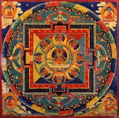 Mandala Amitayus Buddha