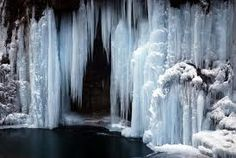 Frozen waterfall by Peter Griffin. Absolutely breathtaking