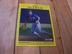 1991 Fleer Card 183 John Olerud | #eBay #JohnOlerud #Fleer #1991 #baseballcards #TorontoBlueJays #freeshipping