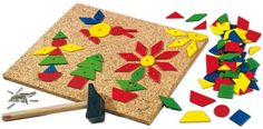 HABA Geo Shape Tack Zap Large Imaginative Design 100 Piece Set Made in Germany ** For more information, visit image link.Note:It is affiliate link to Amazon. #KidsLeisure