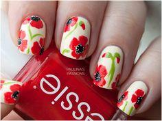 nail flowers - Cerca con Google