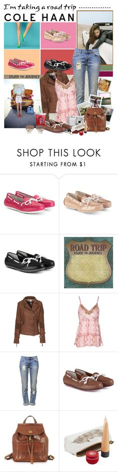 """Hit the Road With Cole Haan: Contest Entry"" by polybaby ❤ liked on Polyvore featuring Cole Haan, Nasty Gal, True Religion, Jane Norman, Anine Bing, Polaroid, Nikon, The Bridge, Linda Farrow and colehaangrantlte"