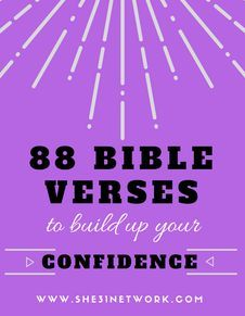 *Build Your Confidence* with this free download featuring 88 Bible promises to confess and declare who you truly are - who God has made you to be. Read them out loud, sing them, declare them and your confidence will grow rapidly! www.she31network.com