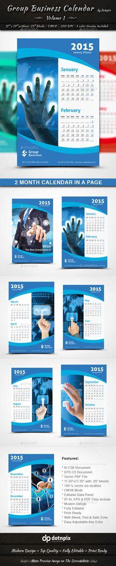Calendar  Business Calendar Printed Ribbon And Illustrators