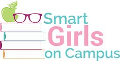 SMART GIRLS ON CAMPUS - She Writes Life- design by Hannah Horrom