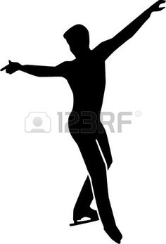 Figura Patinaje hombre soltero Roller Skate Cake, Roller Skating, Middle School Art Projects, Art School, Skate Boy, Dance Decorations, Stock Foto, Black Silhouette, Drawing Poses