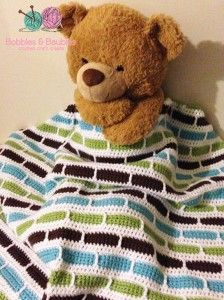 Crochet Stripes Blanket Pattern