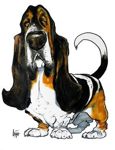 Pet Caricature Portrait