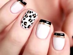 Leopard prints nail art is one such popular idea worth coping among all designs inspired by animals. Leopard prints serve as a great way to express your