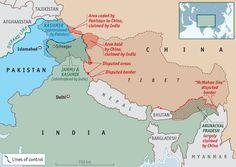 Indian, Pakistani and Chinese border disputes: Fantasy frontiers | The Economist