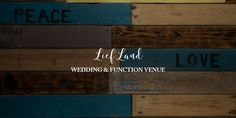 Interior decor, rustic feel. Wedding Function, Rustic Feel, Wedding Venues, Interior Decorating, Peace, Feelings, Home Decor, Wedding Reception Venues, Wedding Places