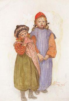 Carl Larsson - Carpenter Hellberg's Children
