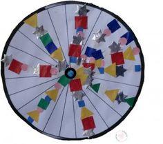 Thema de fiets:  spaken versieren met kralen (doel: reeksen maken)