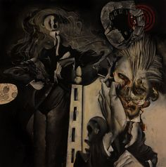 cemetery_panel by Dave McKean