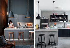 Casa 23: blogi omakotitalon rakentamisesta ja sisustamisesta: Musta-valkoinen keittiö
