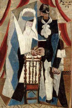 Pablo Picasso (1881-1973) Les communiants
