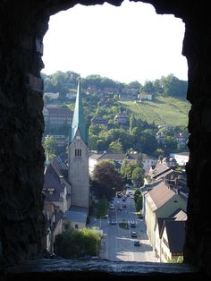 Feldkirch, Austria - taken from Schattenburg Castle, June 2006 Amazing Places, Beautiful Places, Places To Travel, Places To Visit, Feldkirch, Happy Returns, Travel Europe, Alps, Continents