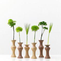 wooden flower base by eN