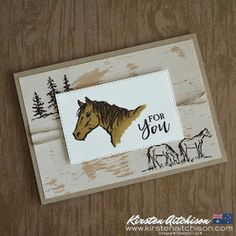 Kirsten Aitchison: Handmade with Love: Let it Ride Challenge Images, Horse Cards, Birthday Cards For Men, Male Birthday, Westerns, Stamping Up Cards, Fathers Day Cards, Animal Cards, Masculine Cards