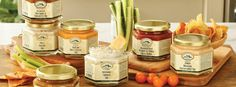 Robert Rothschild Farm is a family-founded company in Urbana, Ohio. A manufacturer of award-winning specialty foods including dips, preserves, spreads, and dessert toppings, they are recognized for their bold flavors and expert blending. Ideal for busy yet discerning hosts and cooks, Robert Rothschild Farm products are the perfect accompaniment to any breakfast, brunch, or cheese tray. The Village Shoppes now carries this line of award-winning, gourmet, specialty foods!