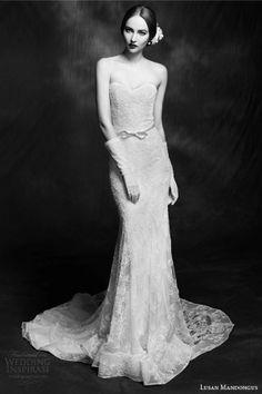 Невестински фустани на Lusan Mandongus 2015 | runway