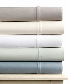 Westport 600 Thread Count Tencel King Pillowcase Pair - Sheets - Bed & Bath - Macy's Bridal and Wedding Registry