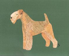 Lakeland Terrier Cut Up by CanineCutUps on Etsy, $35.00