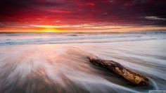 Günün Fotoğrafı/Photo Of The Day #wallpaper #Kumsal #Deniz #Günbatımı #Sunset #Beach #Sea