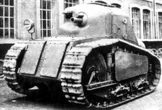 Peugeot Char m.1918 - rival project to Renault FT