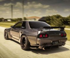 Pandem R32 Nissan Skyline GTR. Click the link to my youtube channel for more Nissan Skyline content Nissan Skyline Gtr R32, Nissan R32, R32 Skyline, R32 Gtr, Chevrolet Chevelle, Lincoln Continental, Steve Mcqueen, Street Racing Cars, Auto Racing