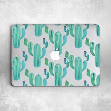 Floral Cactus Ornament Hard Cover Case For Macbook Pro Retina Air 11 12 13 15