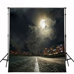 Kate Black Sky and Road Backgrounds Scenic Photo Backdrops Moon Backdrop Vintage Photography Backdrops City Photography, Background For Photography, Photography Backdrops, Vintage Photography, Photo Backdrops, Photography Backgrounds, Castle Backdrop, City Backdrop, Photos Panoramiques