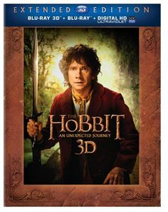 The Hobbit: An Unexpected Journey (Extended Edition) (Blu-ray 3D + Blu-ray + UltraViolet) for $39.99