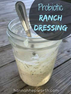Probiotic Kefir Ranch Dressing is delicious and nutritious. Turn any picky veggie eater into a believer with this probiotic dressing!