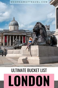 The Ultimate London Bucket List. Discover all the best things to do in London as told by a local! From the iconic London landmarks to hidden gems, leafy outdoor spaces and cultural experiences - this London bucket list has it all! #London #BucketList #LondonBucketList #LondonThingsToDo #Travel #LondonTravel